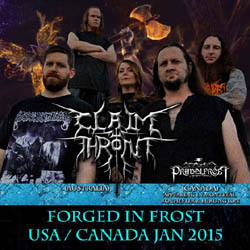 Claim the Throne - FORGED IN FROST 2015